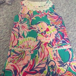 Girl Lilly Pulitzer shift dress size 8